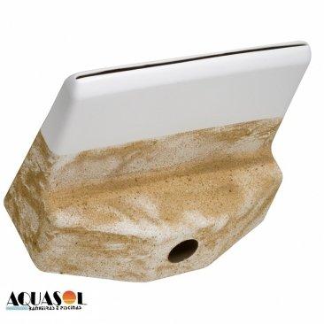 Cascata de embutir fabricado em fibra de vidro 80 cm .