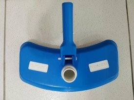 Aspirador com escova para piscina de fibra, concreto ou vinil