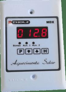 Controlador de Aquecimento Solar por Diferencial de Temperatura + 2 Apoios