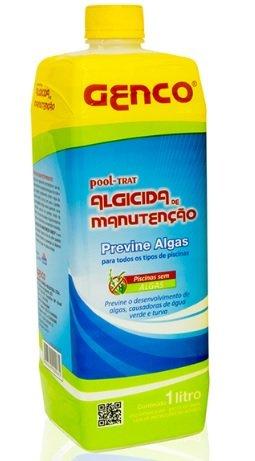 Algicida Manutenção Genco Previne Algas em Piscinas