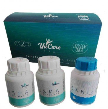YuCare Kit Luxo para Tratamento de SPA Sem Cloro