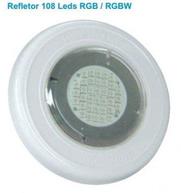Refletor 9W RGB para piscinas até 14 m²