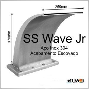 Cascata em Aço Inox 307 com 37 cm de Altura