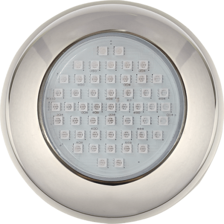Refletor 9W Inox para Piscina até 15 m² 0,75 Amp