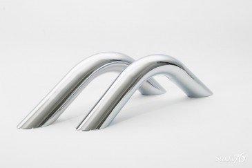 Conjunto de Pega-Mão em Metal para Banheiras