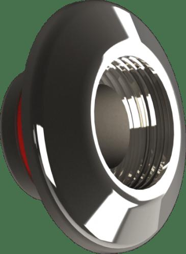 Dispositivo de Aspiração para Piscina de Concreto Encaixa Dentro da Tubulação de 50mm Soldável em Inox 316