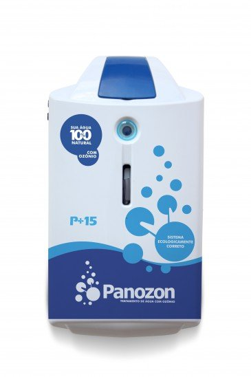 EQUIPAMENTO GERADOR DE OZÔNIO PANOZON 15 PARA PISCINAS DE 5 A 15 MIL LITROS