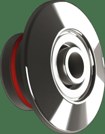 Dispositivo de retorno para piscina de concreto encaixa dentro da tubulação de 50mm produzido em Inox 316