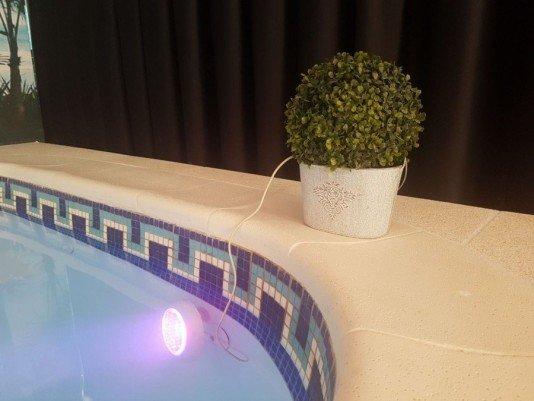 Led Wireless RGB para Piscina com Controle Jeetdoo