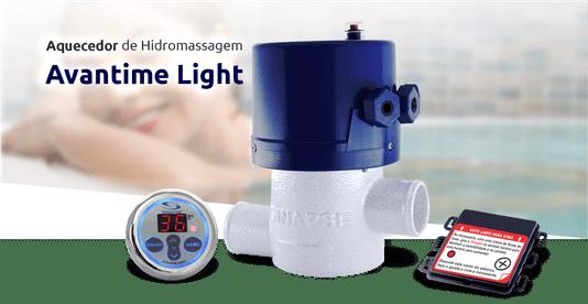 Aquecedor Digital para Banheiras e Spas Avantime Light