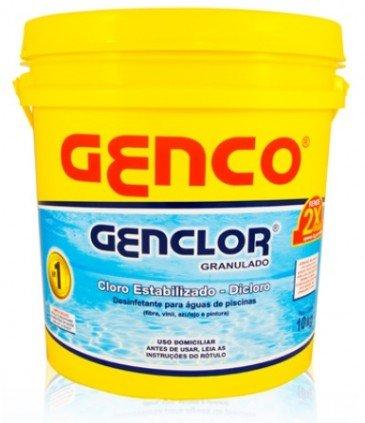 Cloro Granulado para piscina Genco Genclor de 10kg