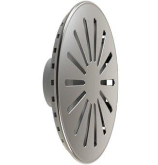 Dispositivo de Dreno para Piscina em Aço Inox Compatível com Tubulações de 50mm Flange Traseira em ABS