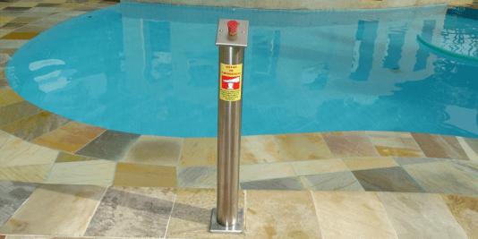 Botão de Emergência para piscinas