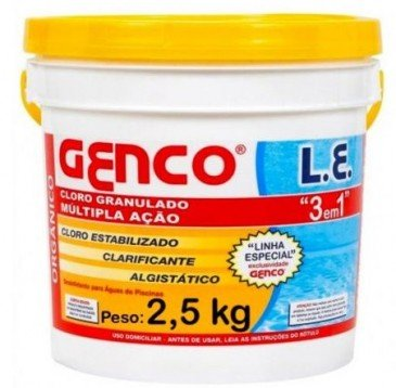 Cloro para Piscina Genco Múltipla Ação 2,5kg