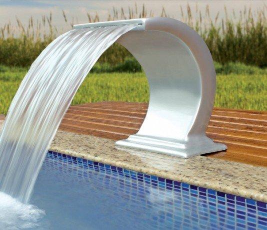 Cascata Recife Standart em Fibra Tipo Onda com 39 cm
