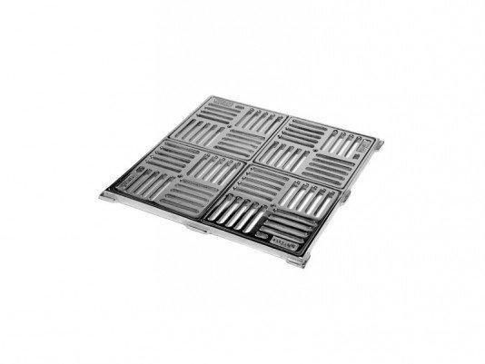 Dispositivo Dreno de Fundo Caixilho 30 x 30 em Inox