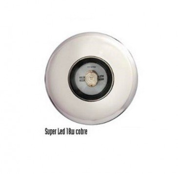 Refletor para Piscina Led 18W Cobre RGB até 20 m²