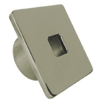 Dispositivo de Retorno Aço Inox quadrado 50mm