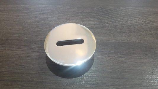 Dispositivo de Retorno Aço Inox tipo fenda 50mm / 60mm