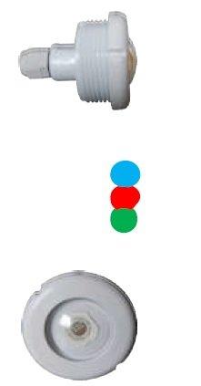Refletor 4,5W RGB para Dispositivo de Aspiração com Rosca para Piscina