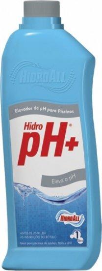 Elevador de ph Liquido para Piscinas Hidrosan Ph+ 1L
