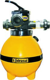 Casco do Filtro para Piscinas Modelo H 350 Hidrasul