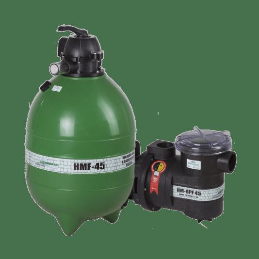 Filtro para Piscinas HM-FB45 Motobomba 1/2 cv Henrimar