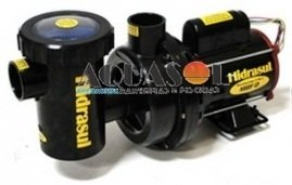 Motor para Piscina 1/2 CV Hidrasul Monofásica