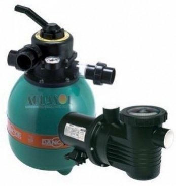 Filtro para Piscina 42 Mil até 84 Mil Litros Dancor DFR-19C e Bomba 1/2cv