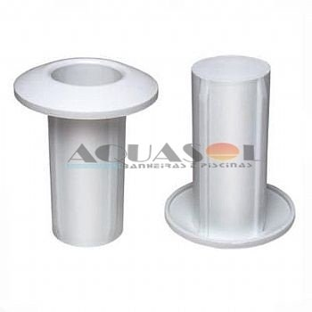 Chumbador Plástico de escadas para piscinas (Par)