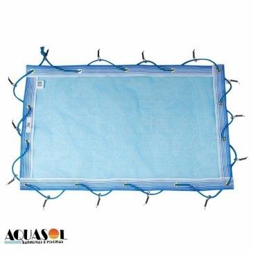 Capa 7,00 x 3,50 de proteção para piscinas em Tela