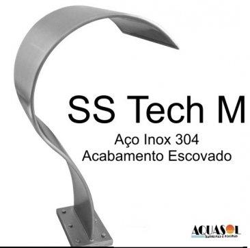 Cascata em Aço Inox 304 SS Tech Media com 82 cm
