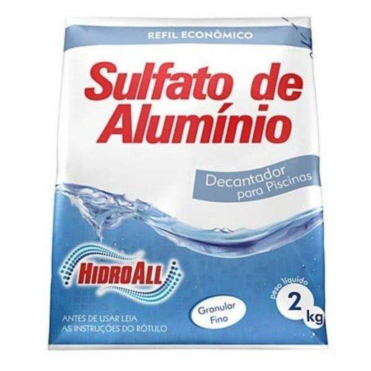 Sulfato de Alumínio para Piscinas Hidrosan 2 kg