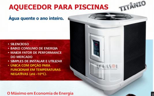 Trocador de Calor para Piscinas até 80 Mil Litros