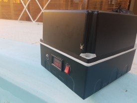 Quadro Led mix RGB de piscina com controle Bluetooth