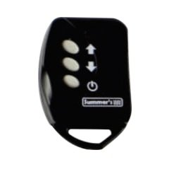 Quadro de comando com controle led RGB para piscina