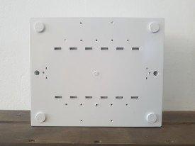 Quadro elétrico montado para piscinas com 4 disjuntores para motor + timer + DPS + DR