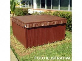 Cobertura especial para o mini Spa terrace jacuzzi