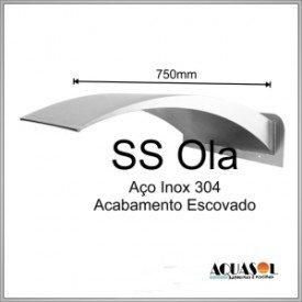 Cascata em Aço Inox 304 com 75 cm