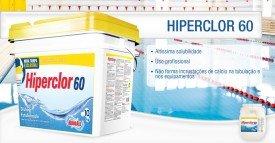 Cloro Granulado para piscinas  Hiperclor 60 de 10 kg