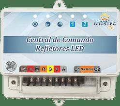Central Comando Refletores RGB SMD Luxo com Controle