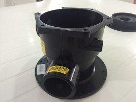 Corpo da válvula seletora do filtro para piscinas hidrasul modelo TWI .