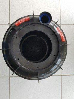 Casco do filtro para piscinas TWi 3600 Hidrasul