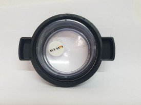 Conjunto de visor + anel + porca do pré filtro da motobomba Veico
