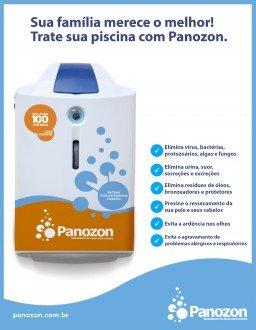 Equipamento Gerador de Ozônio Panozon 85 para Piscinas de 71 Até 85 Mil Litros