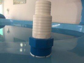 Adaptador rosca fina para piscina de fibra ou concreto