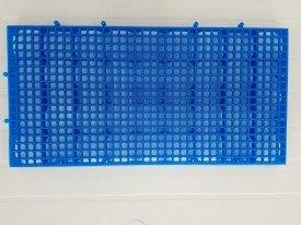 Estrado para vestiário azul 50 x 25 x 2 CM