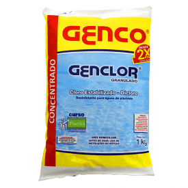 Cloro Granulado para Piscina Genco Genclor 1 kg