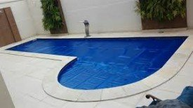 Capa 5,00 X 2,50 Térmica para manter o aquecimento das piscinas.