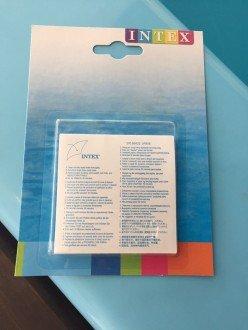 Adesivo para reparo em piscinas plásticas